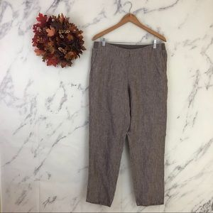 J. Jill Love Linen Ankle Pants